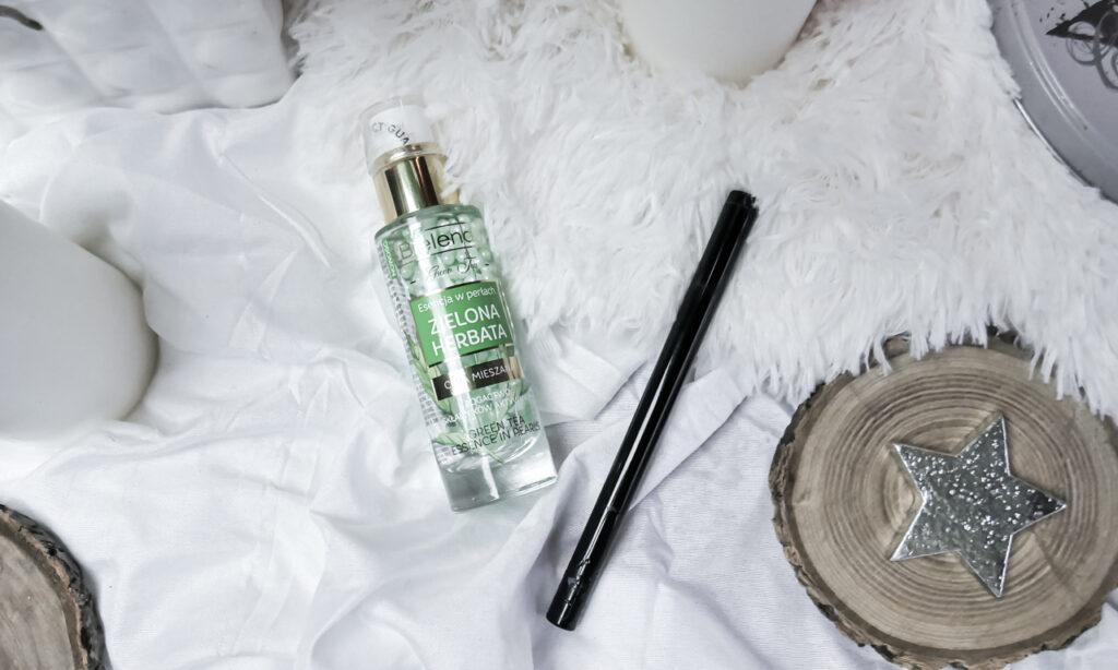 Bielenda esencja w perłach z zieloną herbatą / Eveline Art Scenic eyeliner