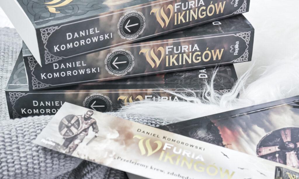 Furia wikingów Daniel Komorowski